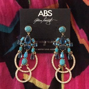 Boston Proper Turquoise Stone Earrings ❤️